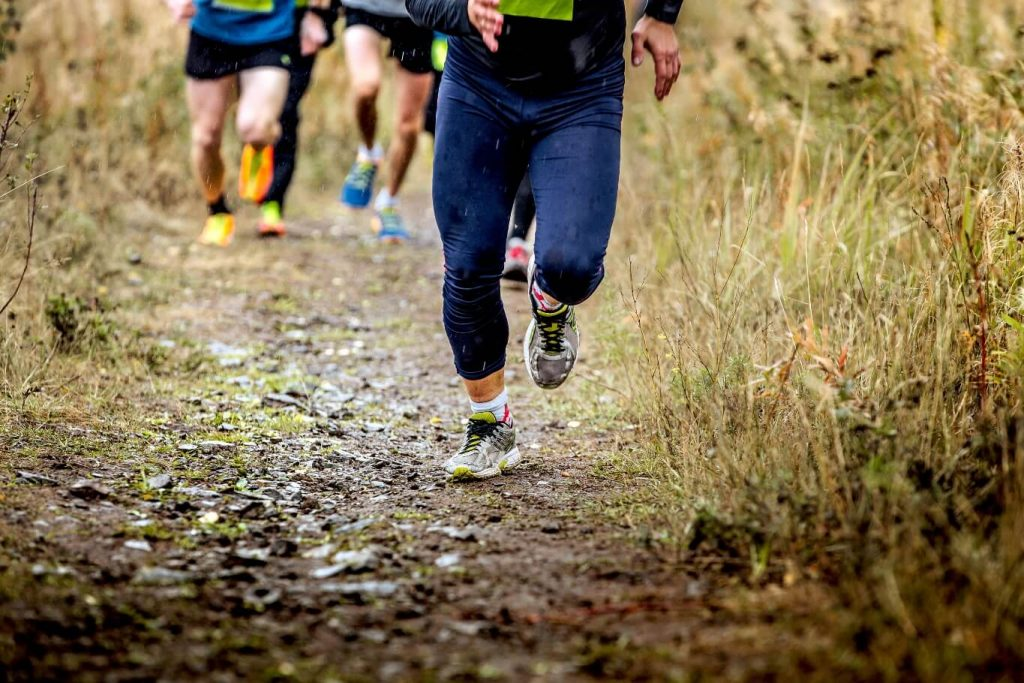 Hill reapeats helps with mental fitness training
