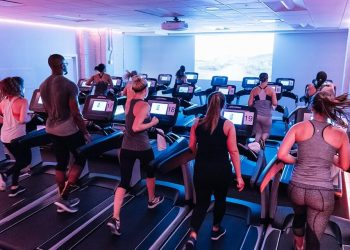 Treadmill Running Studio for Marathon Training