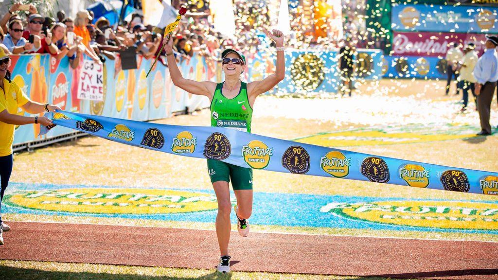Female contenders at the 2019 Comrades Marathon