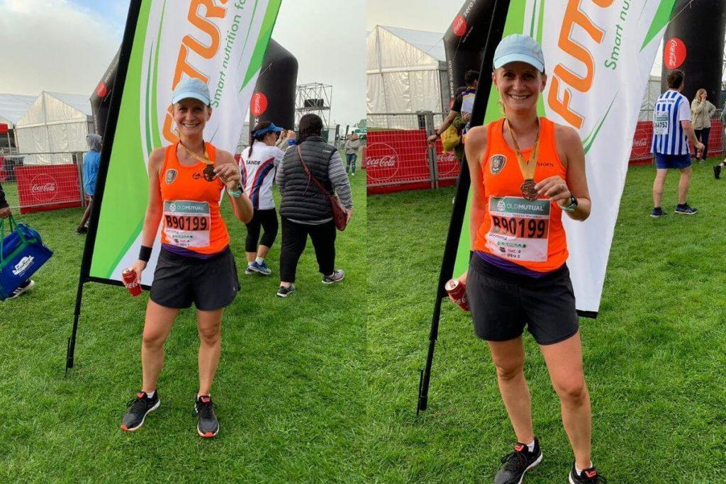 Gemma Two Oceans Marathon 2019 Finish Line