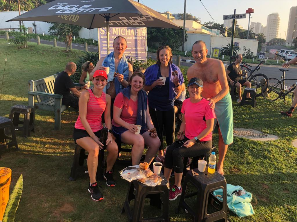 Social part of running in South Africa