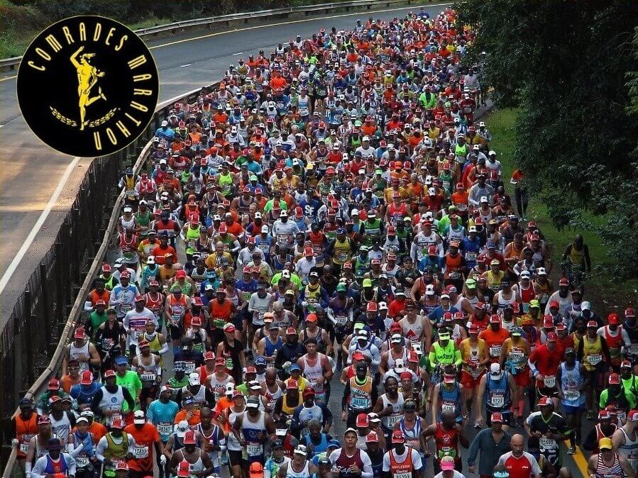 Comrades Marathon is synonimous with running busses