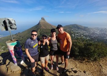 Running Table Mountain with Run Cape Town