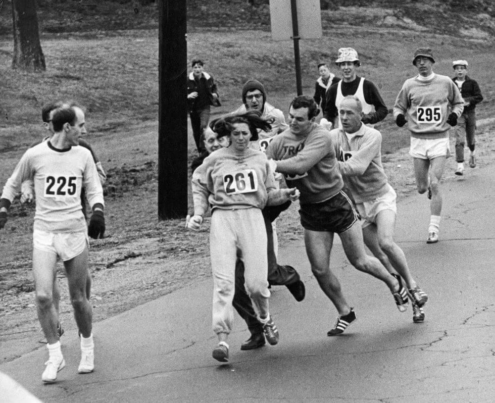 Kathrine Switzer First Woman Marathon Runner