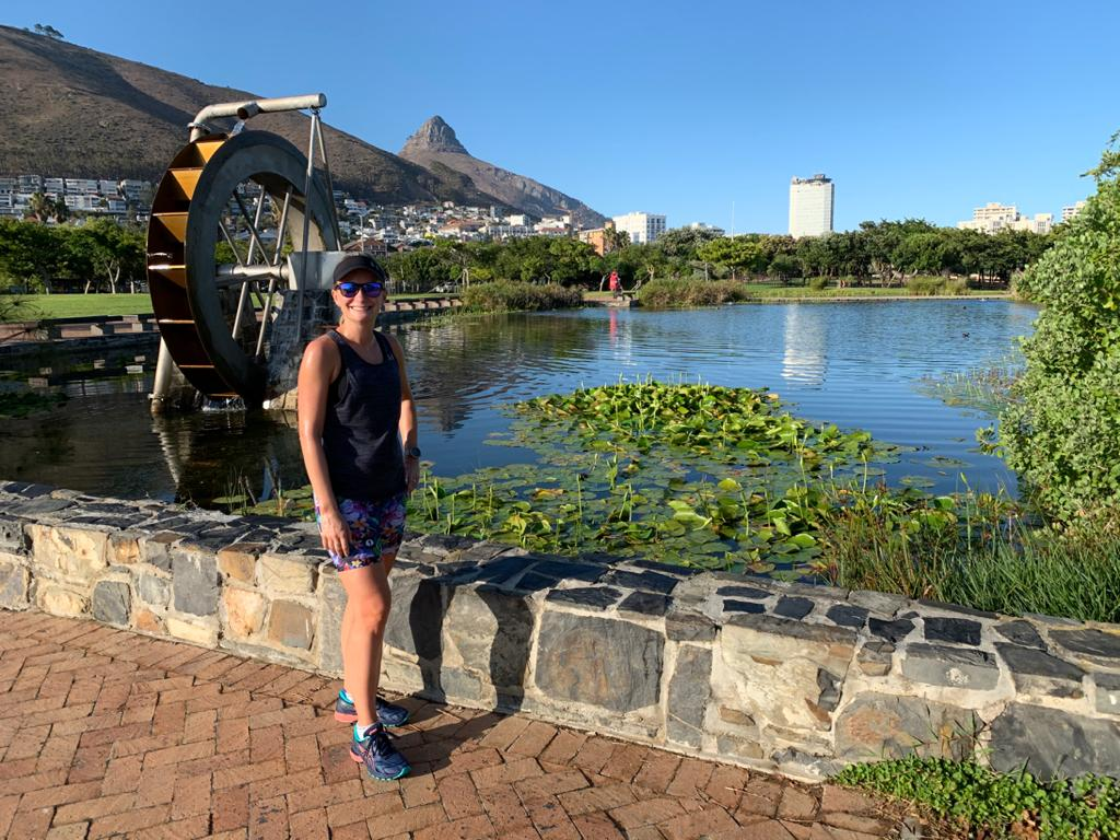 Great views on route with Run Cape Town