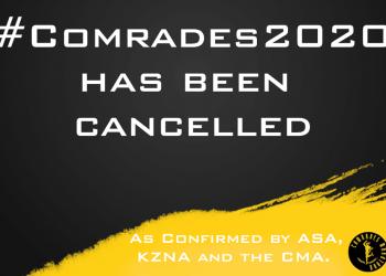 Comrades Marathon 2020 Cancelled