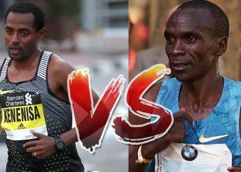 Kipchoge vs Bekele London Marathon 2020